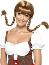 Brown Bavarian Babe Wig